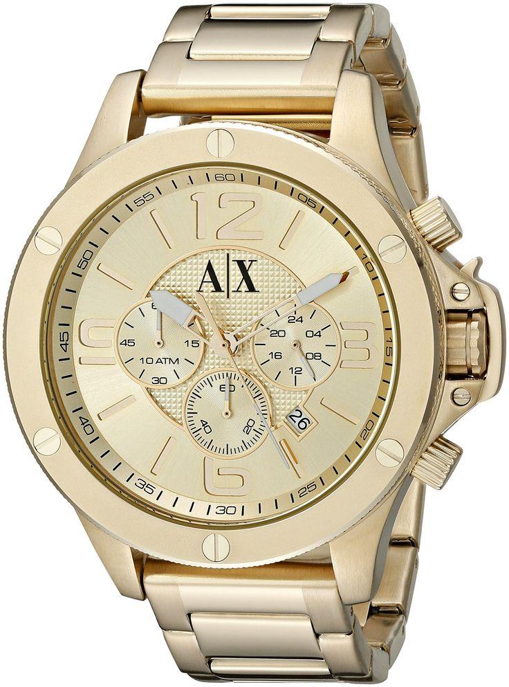 24fec568b0c1 relojes armani hombre color oro
