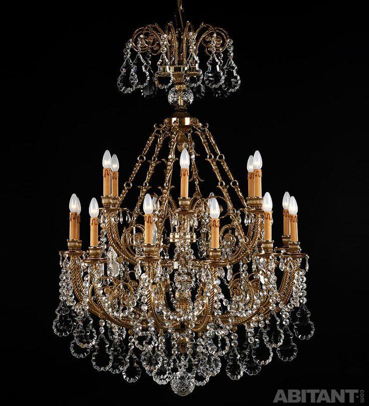Люстра со светильниками в виде свечей