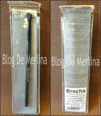 Brocha Para Pliegue Crease Brush De ELF ~ Maquillaje... Tips, Productos y Opiniones