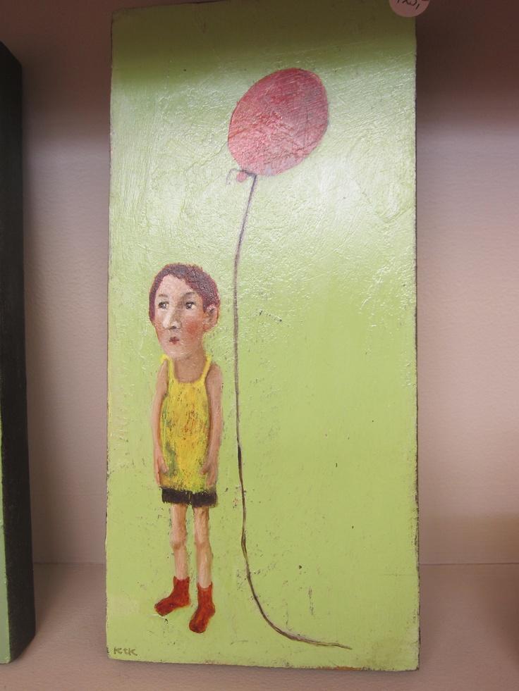 Koos ten Kate - de ballon   Artacasa Amsterdam