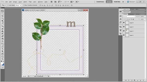 how to make text wrap around image photoshop