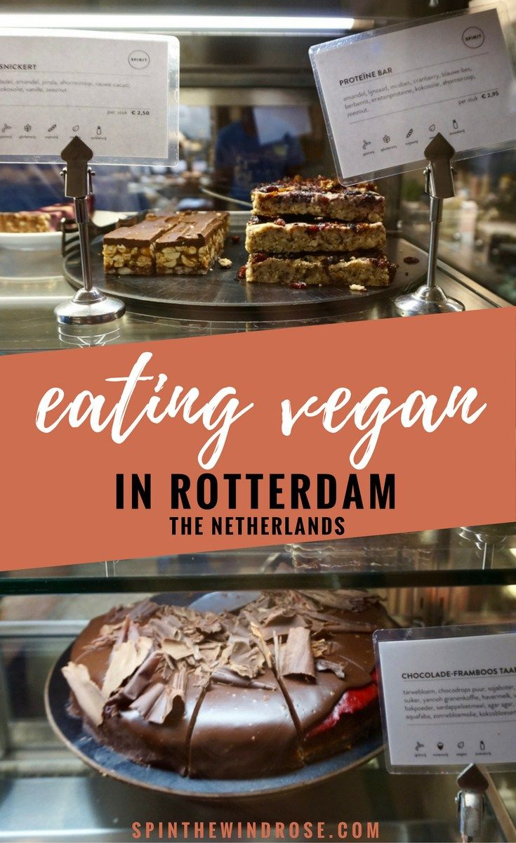 I'm always a little worried I'll be able to find vegan options when I travel, but luckily eating vegan in Rotterdam was easy! Here's how I got on.  Vegan | Cafes and Restaurants in Rotterdam, The Netherlands | Plant Based | Food | Plant Power | Breakfast, Brunch, Lunch and Dinner Options