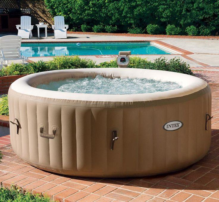 Inflatable Hot Tub  Intex Pure Spa Inflatable Hot Tub   Decoration. Jacuzzi Bathtub Costco   Rukinet com