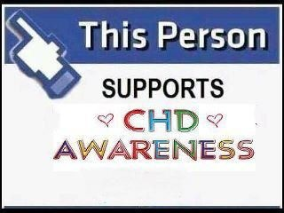 chd awareness - the chd that I support is Hypoplastic Left Heart Syndrome! I'm pinning this for you, @lindseycaye, and Ashlyn Grace Reid!!!