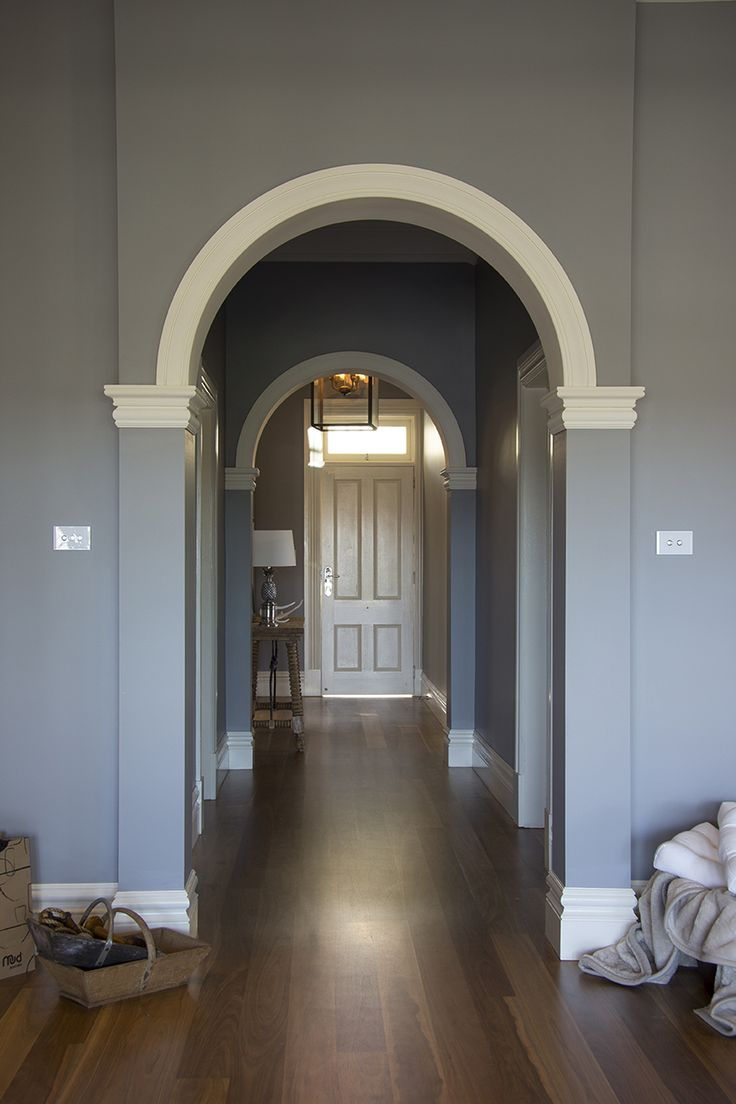 Colonial Victorian living space created using Intrim Group's skirting and architrave mouldings, skirting blocks, cornices and sill nosing profiles. SK452, SK582, SN03.
