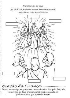 Catequizando Crianças: Transfiguração do Senhor