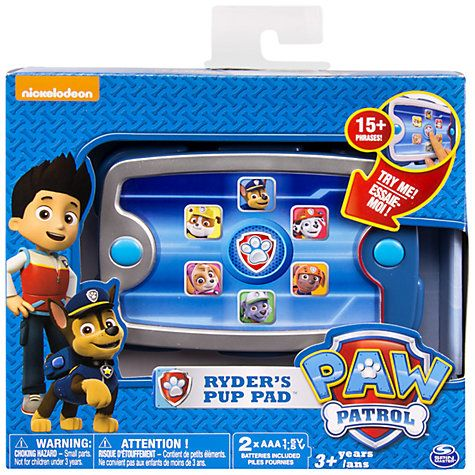 Buy Paw Patrol Ryder's Pup Pad Online at johnlewis.com