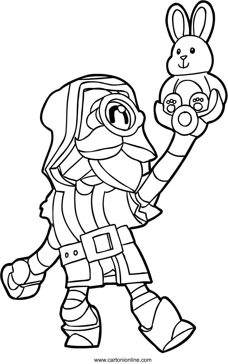 Desenho de Wizard Barley de Brawl Stars para colorir em ...