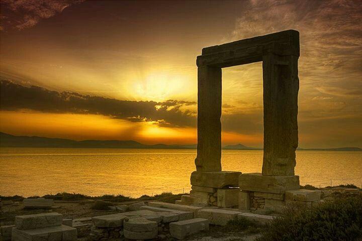 Naxos Portara, Greece