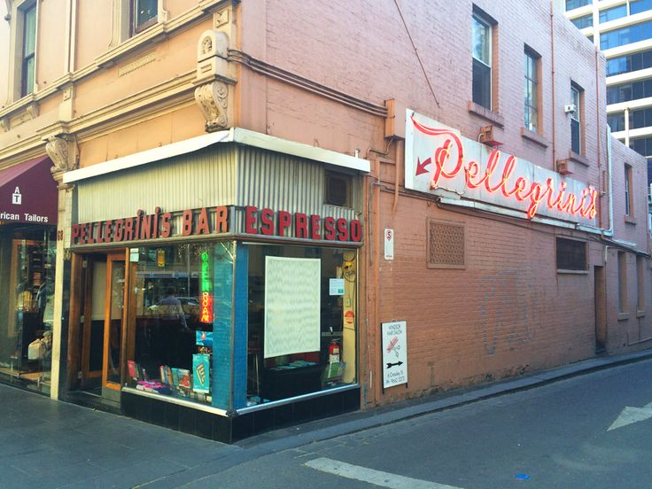 Melbourne legends. Pellegrinis has been treating customers to quality Italian fare since 1954