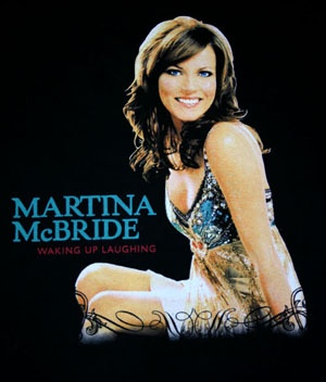 She opened for Garth Brooks. That was a long time age