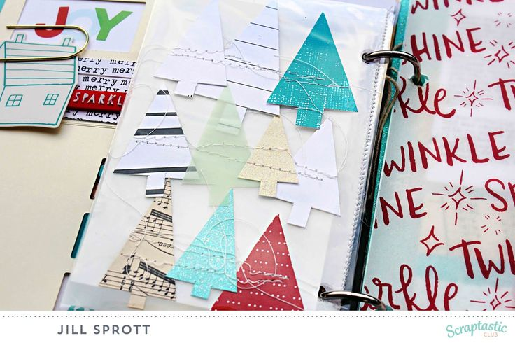 My 2015 holiday album is now complete, with the help of Scraptastic Club's Stocking Stuffer kit. A few days ago, I joined SC DT member Nat...