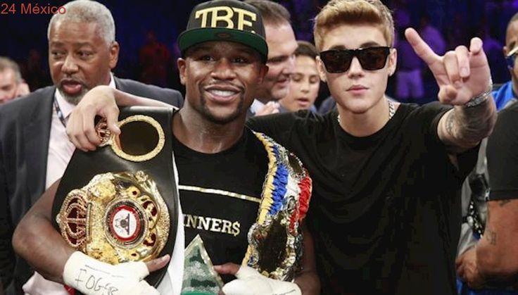 El distanciamiento entre Justin Bieber y Floyd Mayweather