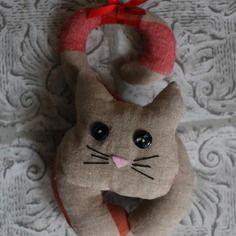 Coussin de porte en forme de chat