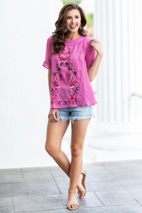 cdb1bfa399bac pink top for summer