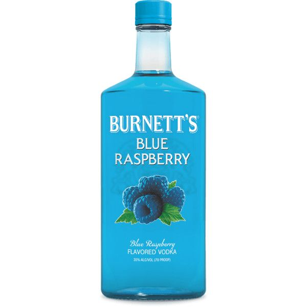 Burnett's Vodka ❤ liked on Polyvore featuring food, drinks, fillers, alcohol and food and drink