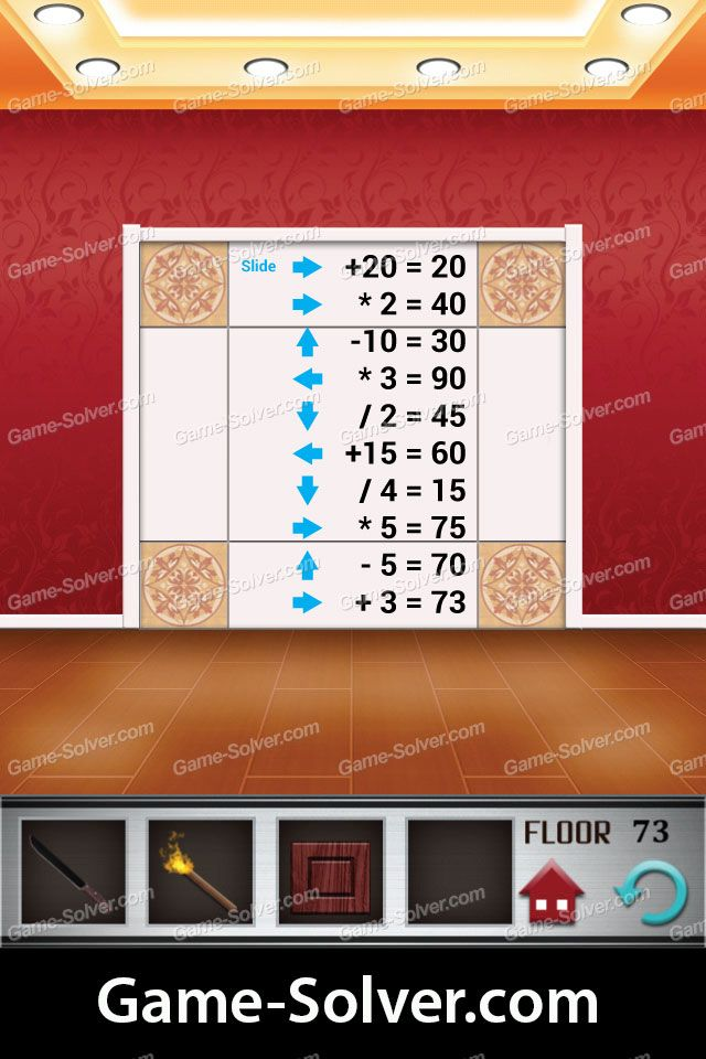 Perfect 100 Floors Level 73 Written Walkthrough And Review In 2020 Flooring Levels The 100
