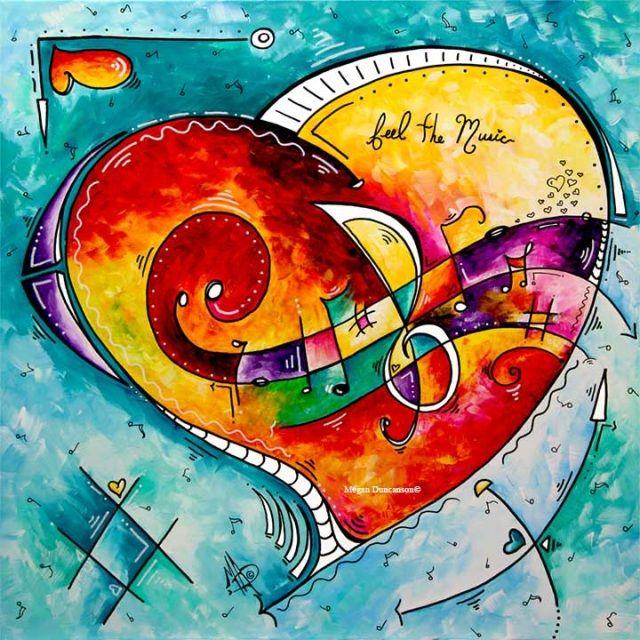 PoP of Love - MADART Website Original Paintings