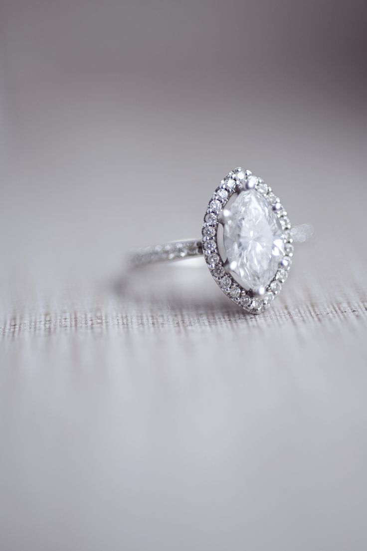 View entire slideshow: 25 Heavenly Halo Engagement Rings on http://www.stylemepretty.com/collection/2013/