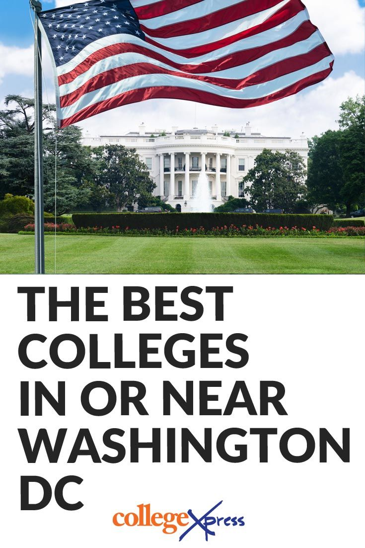Colleges around dc
