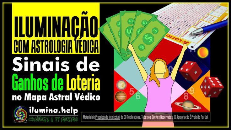 #Sinais de #Ganhos de #Loteria no Seu #Mapa #Astral #Védico