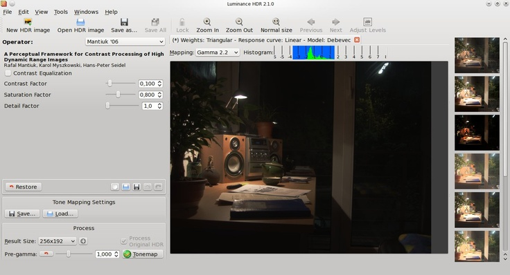 Luminance HDR - aka Qtpfsgui: a complete open source solution for HDR photography - and free software