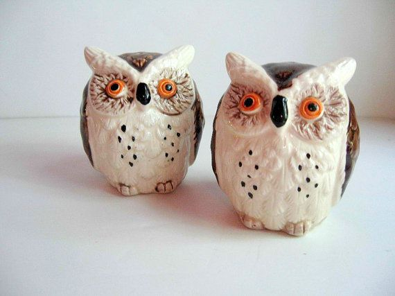 25 best ideas about vintage ceramic on pinterest for Owl fish store