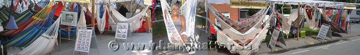 Vi kommer att ställa ut och sälja våra hängmattor på marknader i sommar. Välkomna dit och besök oss och se vårt sortiment.  Hörby 6-7 juli, Ronneby 8-10 juli, Hästveda 13-14 juli, Kivik 18-20 juli, Sjöbo 21-22 juli och Långås 23-24 juli. http://www.hangmattor.se/