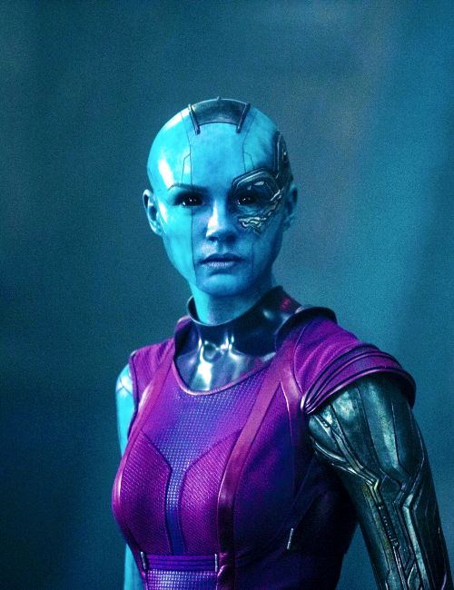 Karen Gillan / Nebula / Guardians of the Galaxy<-she looks so awesome!! cannot wait for this movie!