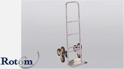 Diable pour escaliers avec 3 roues rotatives 40292: 500x630 mm - Rotom