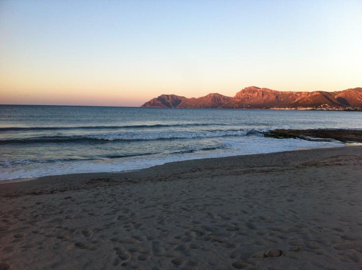 Colonia de San Pedro (view from Son Serra de Marina) - Mallorca, the heaven on earth