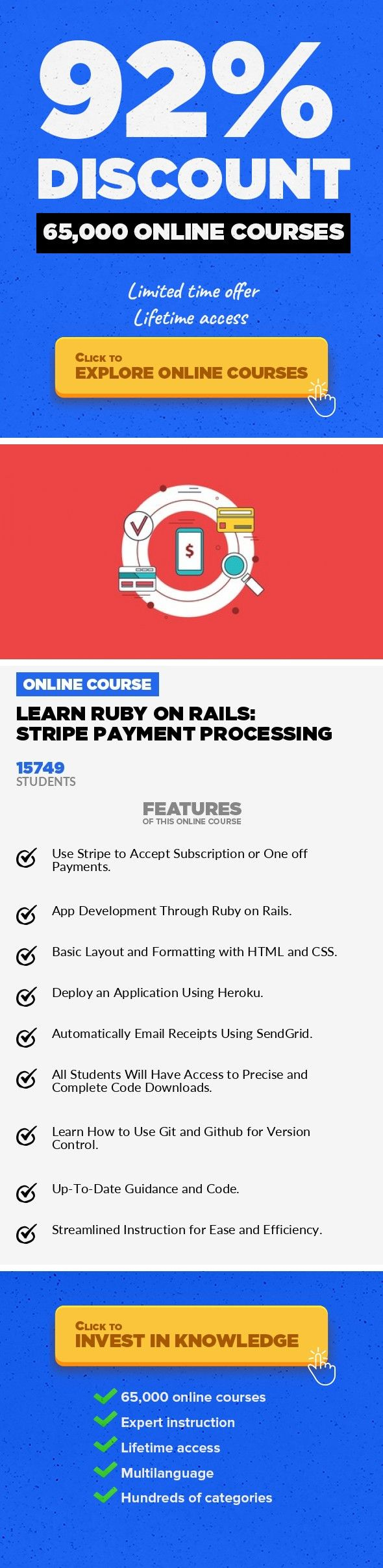 170 best online lessons internet safety images on pinterest learn ruby on rails stripe payment processing web development development learn how to make a web app that uses stripe to accept one off or subscription fandeluxe Image collections