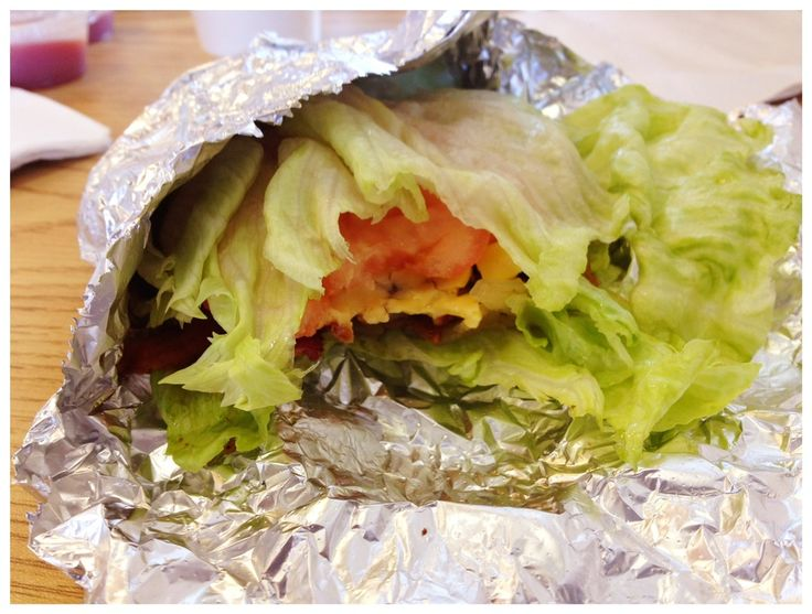 Lettuce wrapped burger from Five Guys