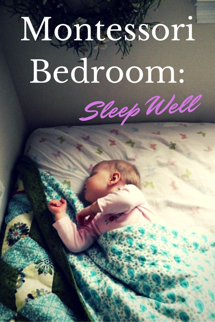 Montessori Setup: Montessori Bedroom: Sleep Well