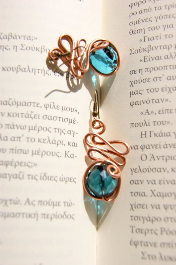 Mycenaeans wire earrings by RenatasArt on Etsy, €12.00