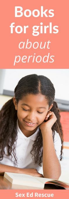 Here you'll find the best (and most up-to-date) books about periods and menstruation for girls.