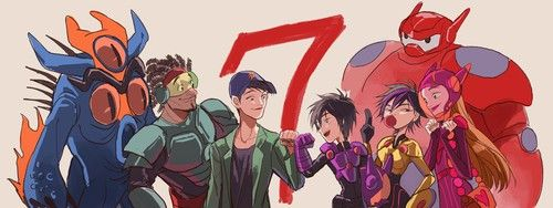 "Big Hero SEVEN: The way it should be. :""(<<< no no no wait what if they do a sequel and Dashi comes back?!?"