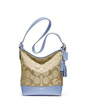 coach 21149 chambray baby blue