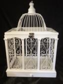 Rectangle bird cage 40cm tall