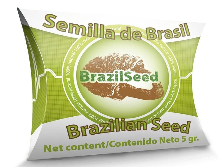 Semilla De Brazil (Brasil) - Brazil Seed 30 Day Supply Original Large Seed