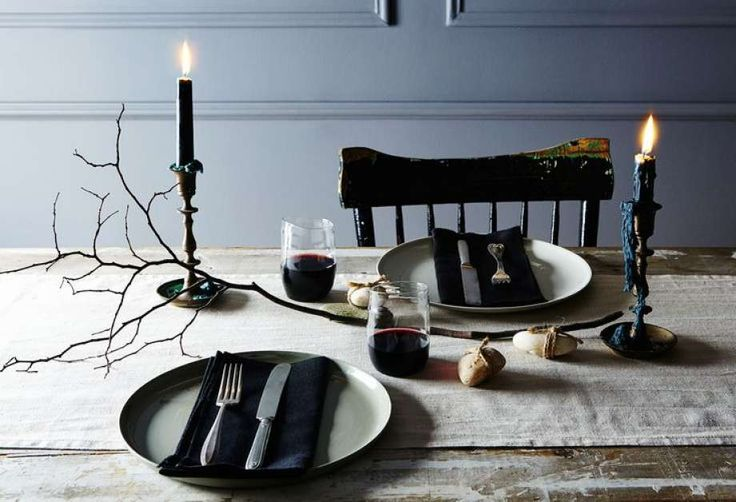 Recipe for a Slightly Spooky, Very Easy Halloween Table Setting - Houston…