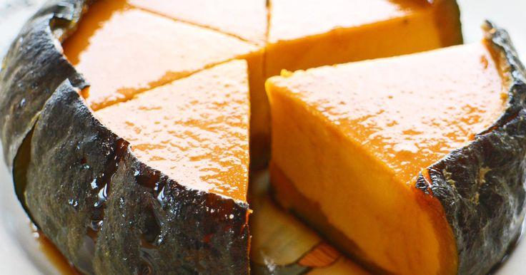 ✿話題入り感謝✿黒蜜を使うのでとっても簡単♪和風な材料で甘さ控え目、素朴な風味のかぼちゃプリンはいかがですか?