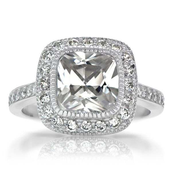 17 best images about cushion cut engagement rings on