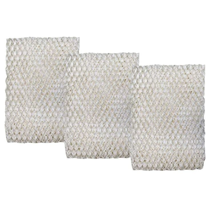 Crucial Holmes-compatible HWF100 Humidifier Filters (Set of 3) (humidifier filter), White