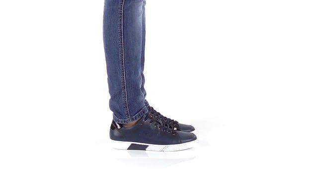 Crillon - Ανδρικά παπούτσια casual Boss από δέρμα - Gianna Kazakou Online