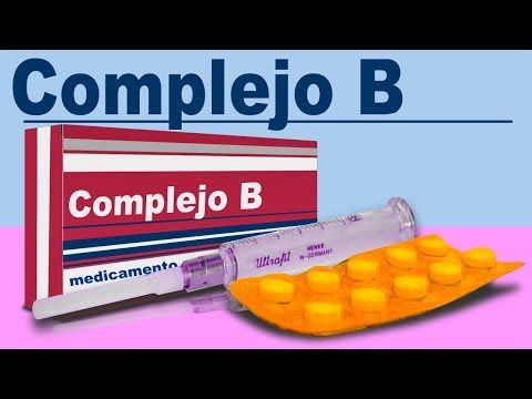 COMPLEJO B adios torticolis (para que sirve) debilidad muscular