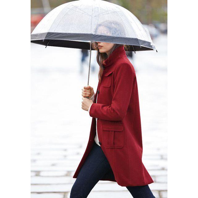 Manteau 60 % laine Atelier R prix Manteau Femme La Redoute 119.99 € TTC au lieu de 149.99 €