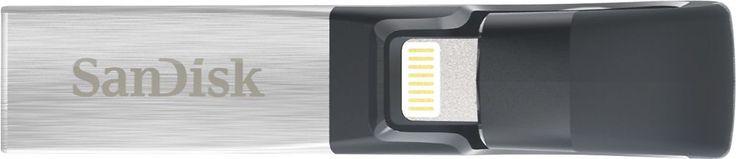 SanDisk - iXpand 32GB USB 3.0/Lightning Flash Drive