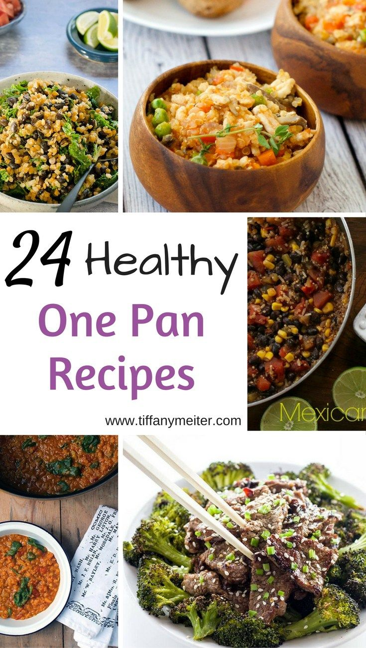 24 Healthy One Pan Recipes - Tiffany Meiter