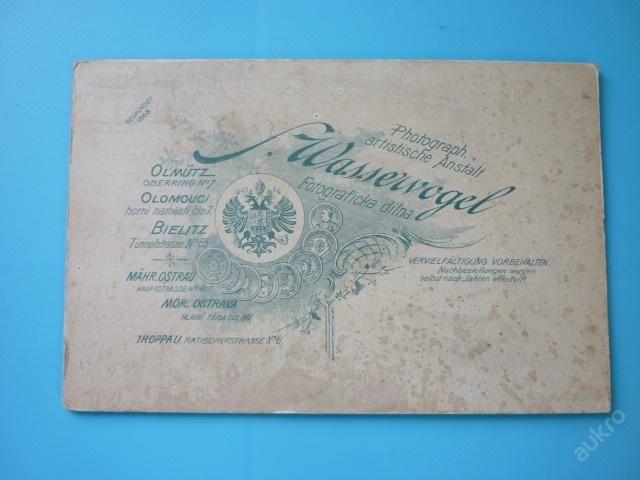Salomon Wasservogel Olmutz Photograph kabinetka (4983636361) - Aukro - největší obchodní portál